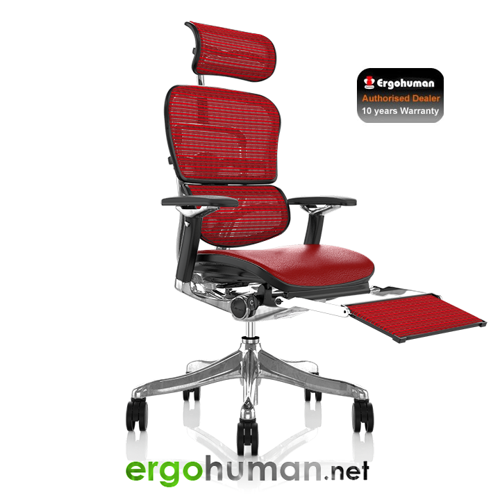 New Leather for the Ergohuman Range of Office Chairs